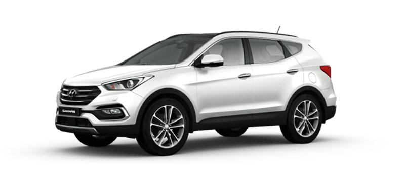 Hyundai Santa Fe mau trang