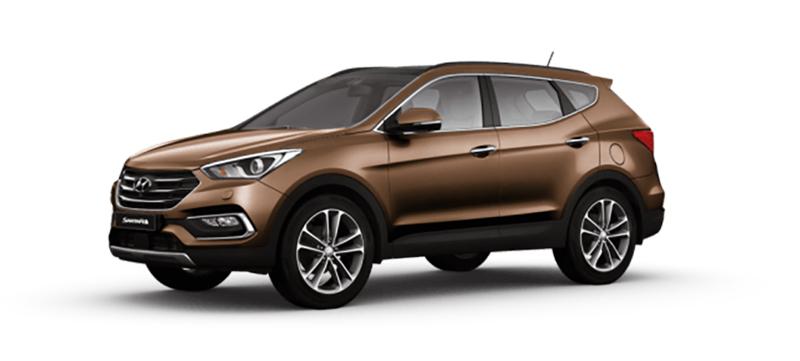Hyundai Santa Fe mau xam