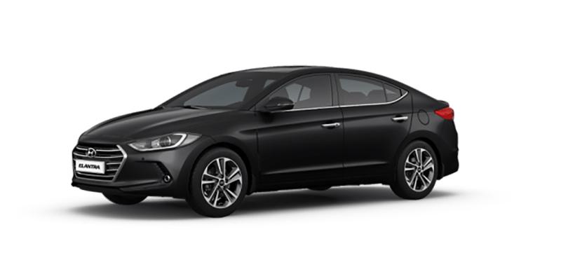 Hyundai Elantra mau den