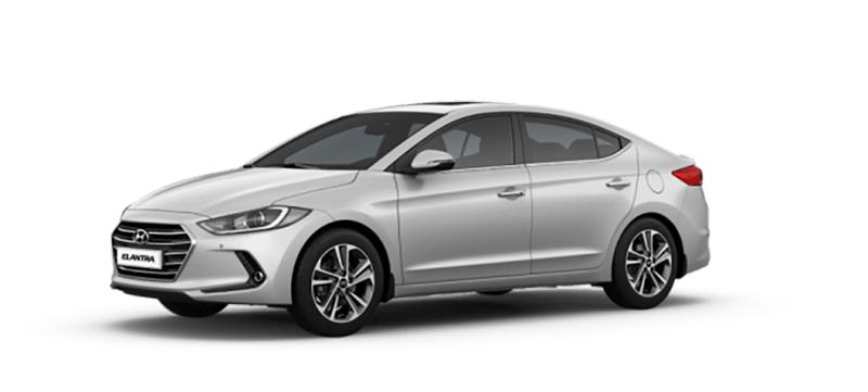 Hyundai Elantra mau trang