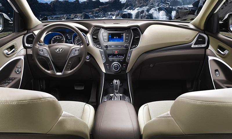 Hyundai SantaFe noi that