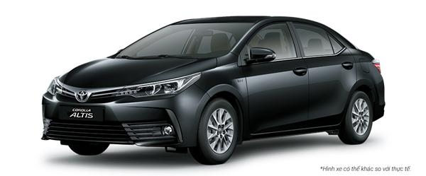Toyota Altis màu đen