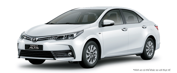 Toyota corolla altis mau-trang