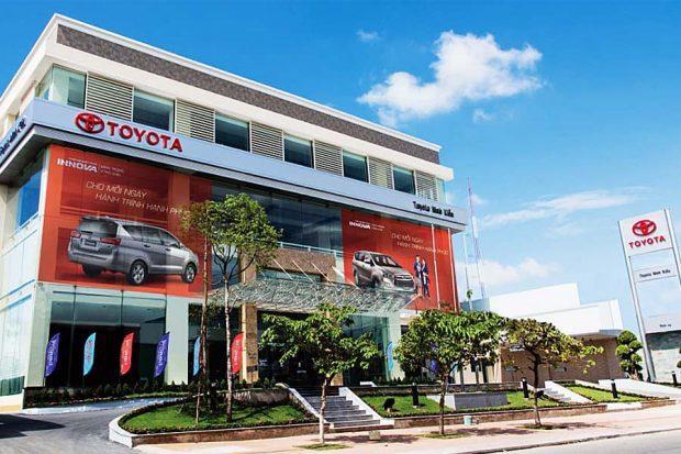 Đại lý xe Toyota Ninh Kiều Cần Thơ