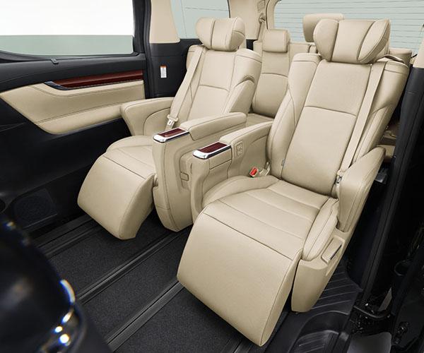 Toyota Alphard nội thất 5