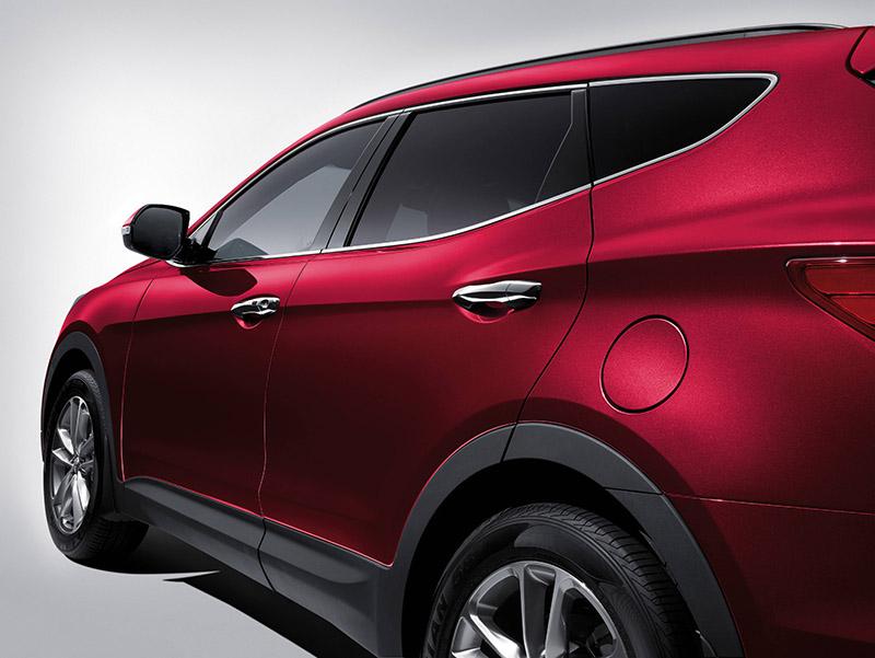 Hyundai SantaFe than xe 2