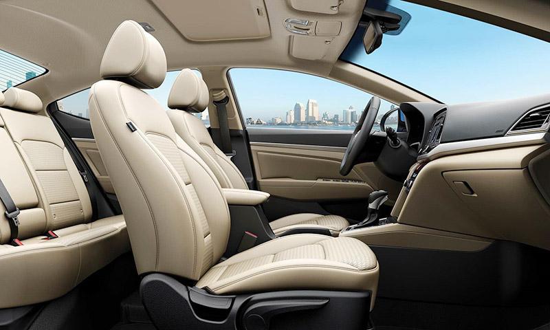 Hyundai Elantra nội thất ghế ngồi