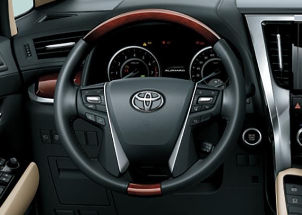 Toyota Alphard nội thất 3
