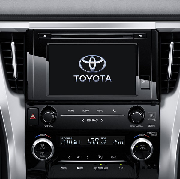 Toyota Alphard nội thất 2