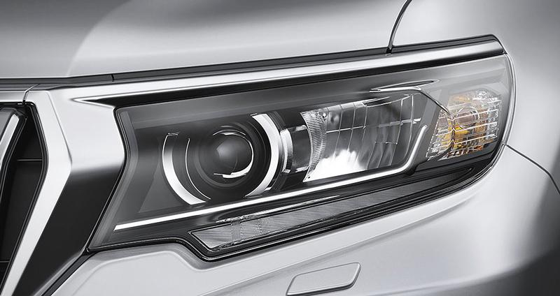 Cụm đèn pha LED Toyota Prado VX