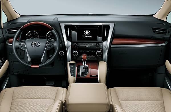 Toyota Alphard nội thất 1
