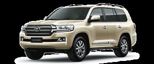 Toyota Land Cruiser màu nâu