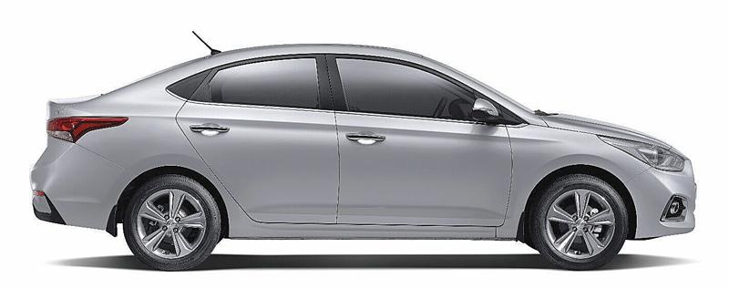 Thân xe Hyundai Accent 2018