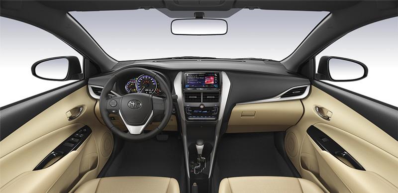 Nội thất Toyota Yaris