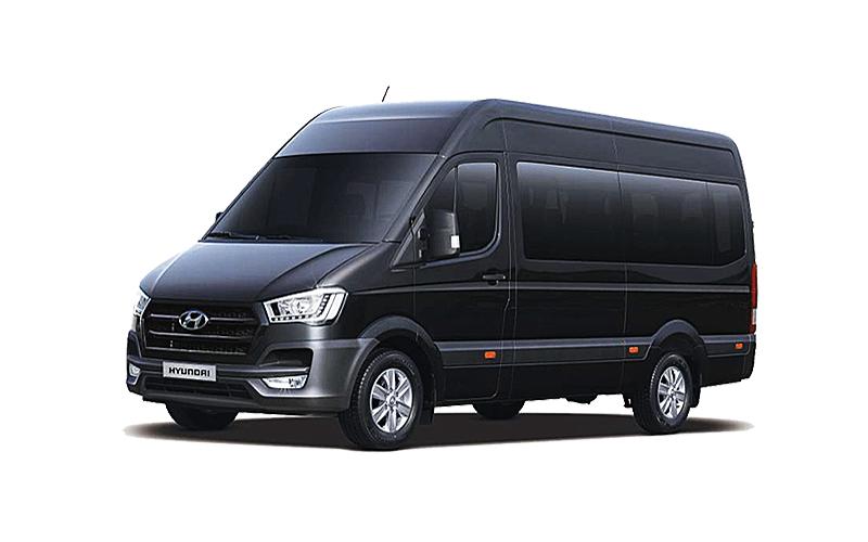 Ngoại thất Hyundai Solati 2018