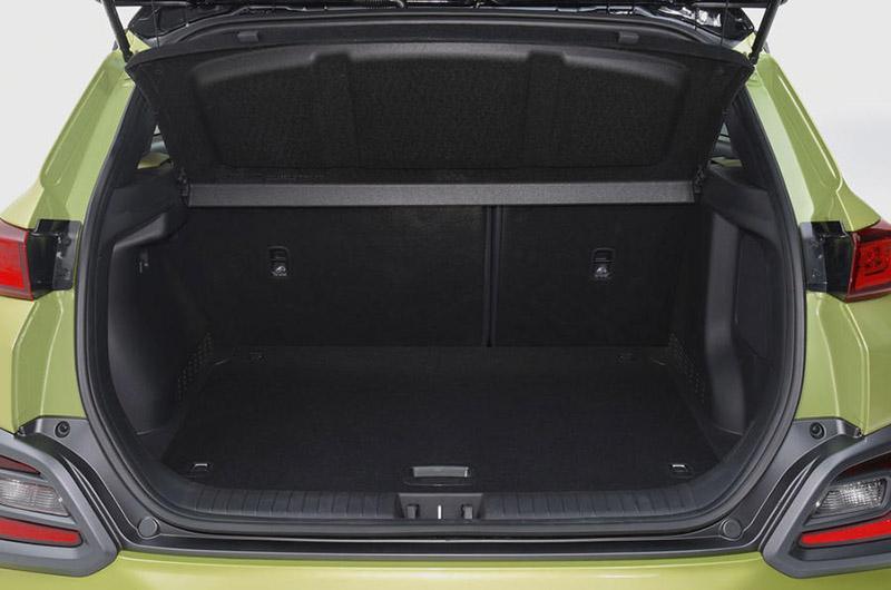 Khoang hành lý Hyundai Kona