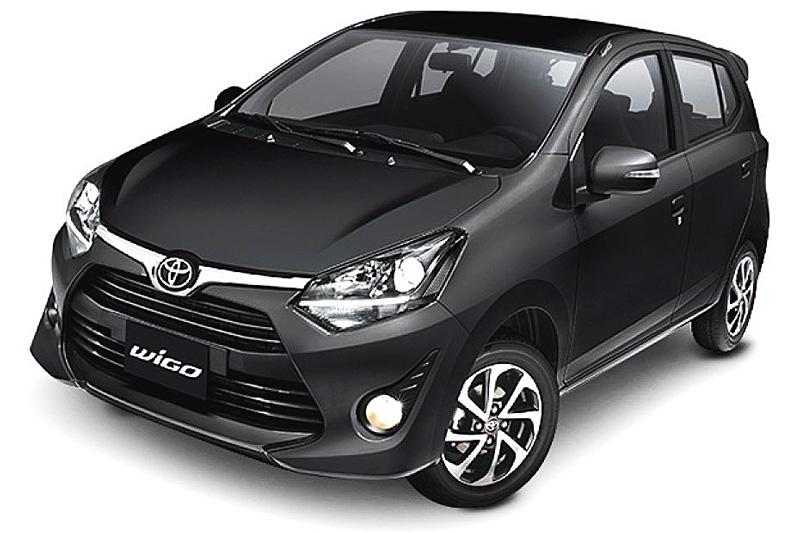 Toyota Wigo màu đen