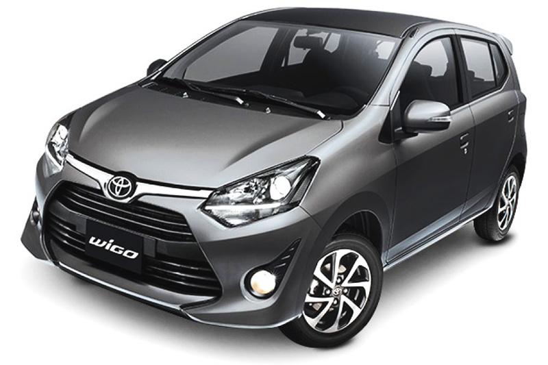 Toyota Wigo màu xám