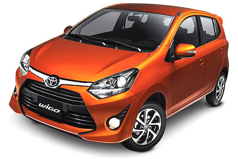 Toyota Wigo màu cam