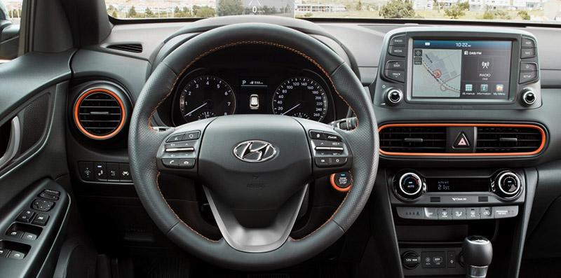 Thiết kế vô lăng Hyundai Kona