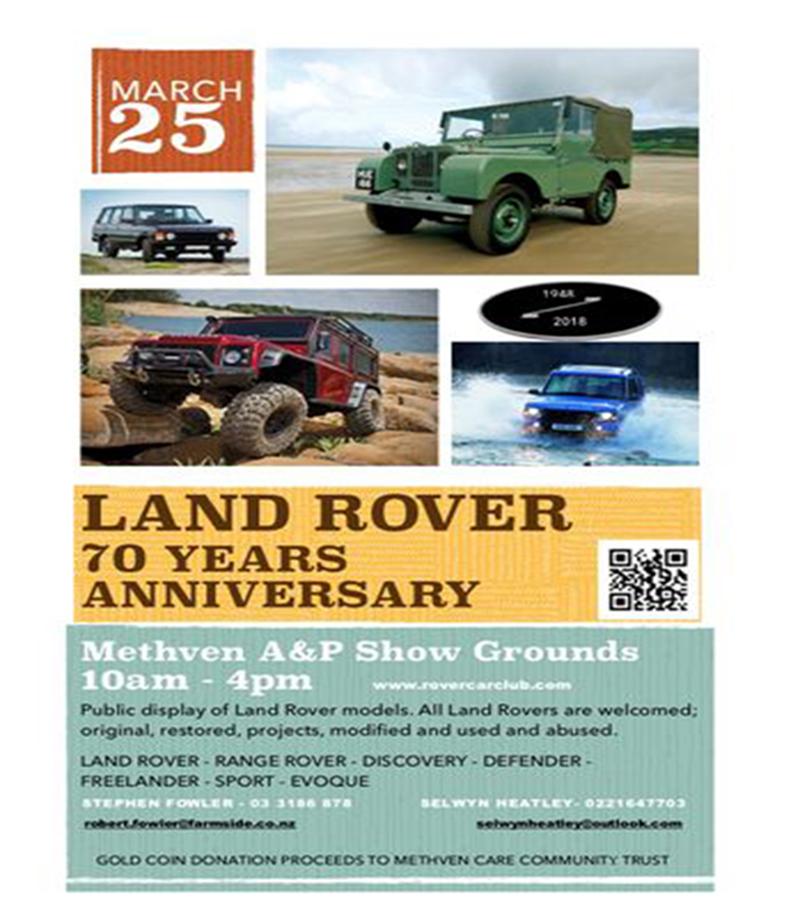 Land Rover 70 năm tuổi
