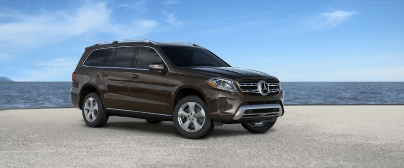 mercedes gls Brown Metallic