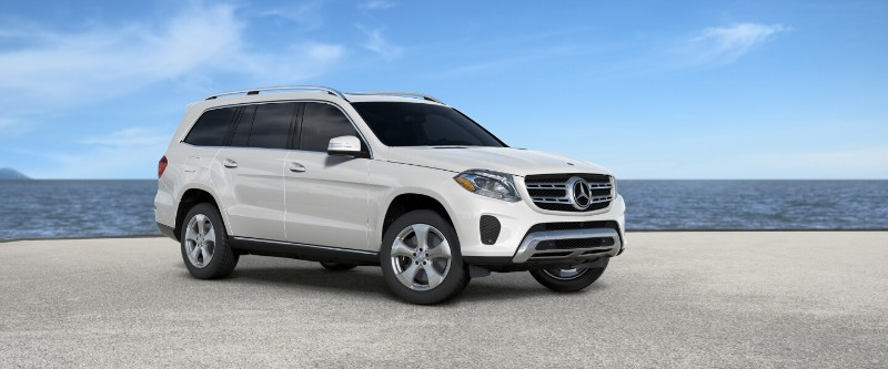 mercedes gls Diamond White Metallic