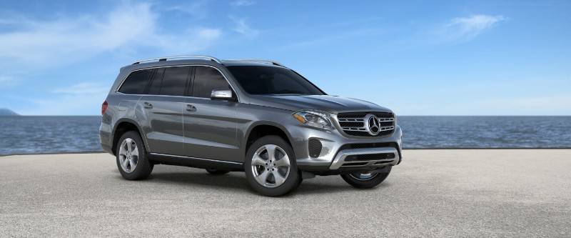 mercedes gls Gray Metallic