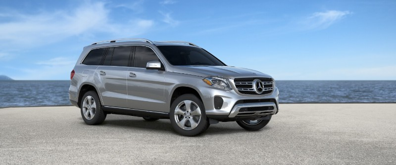 mercedes gls iridium silver metallic
