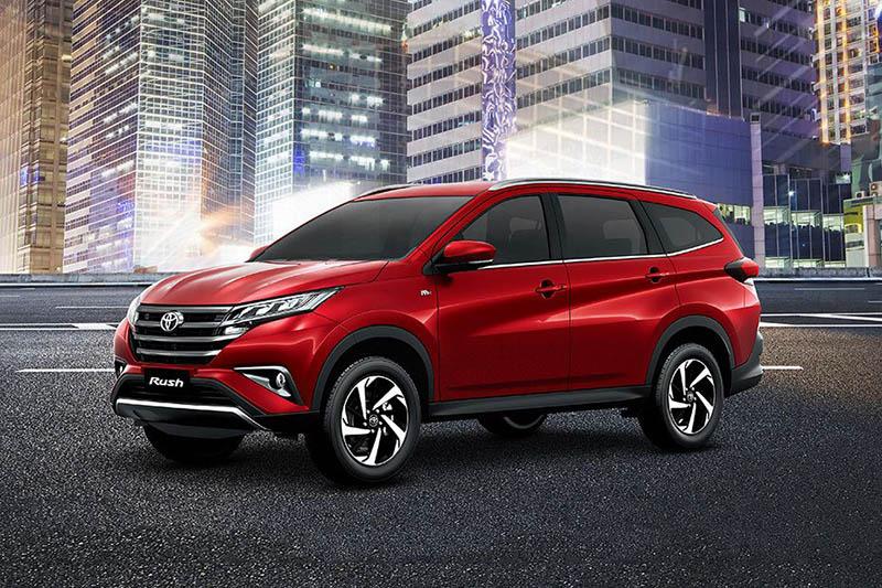 Toyota Rush linh hoạt và tiết kiệm nhiên liệu trên các quãng đường đô thị.