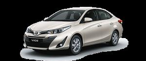 Toyota Vios 2019 màu be