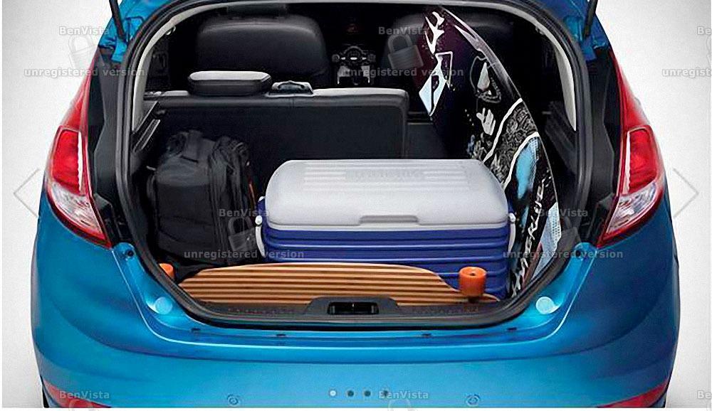 Ford Fiesta khoang hành lý tiện lợi