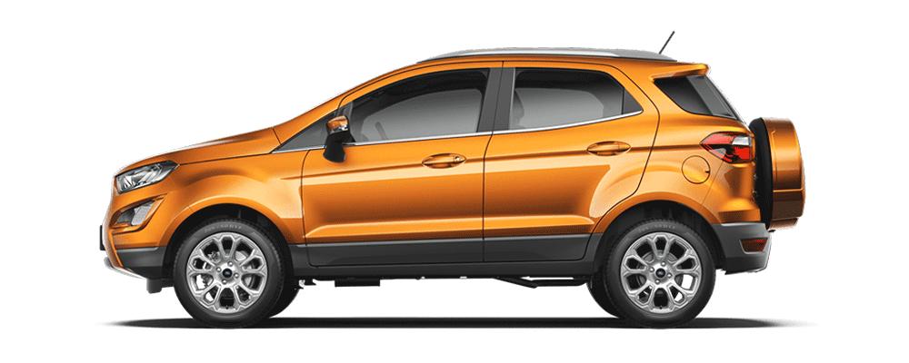 Ford Ecosport đỏ đồng
