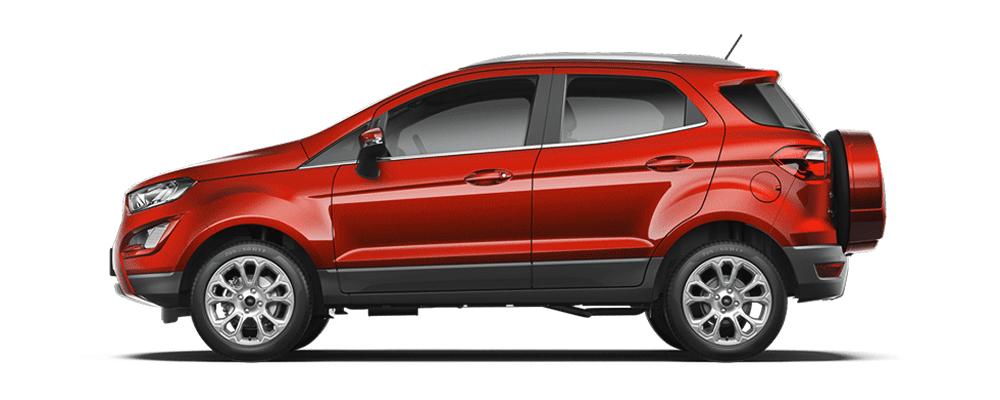Ford Ecosport đỏ ngọc ruby