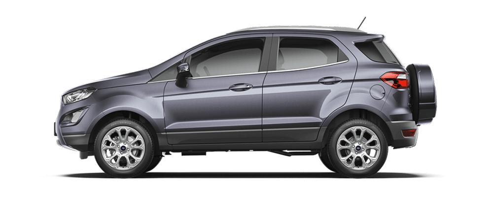 Ford Ecosport ghi ánh thép