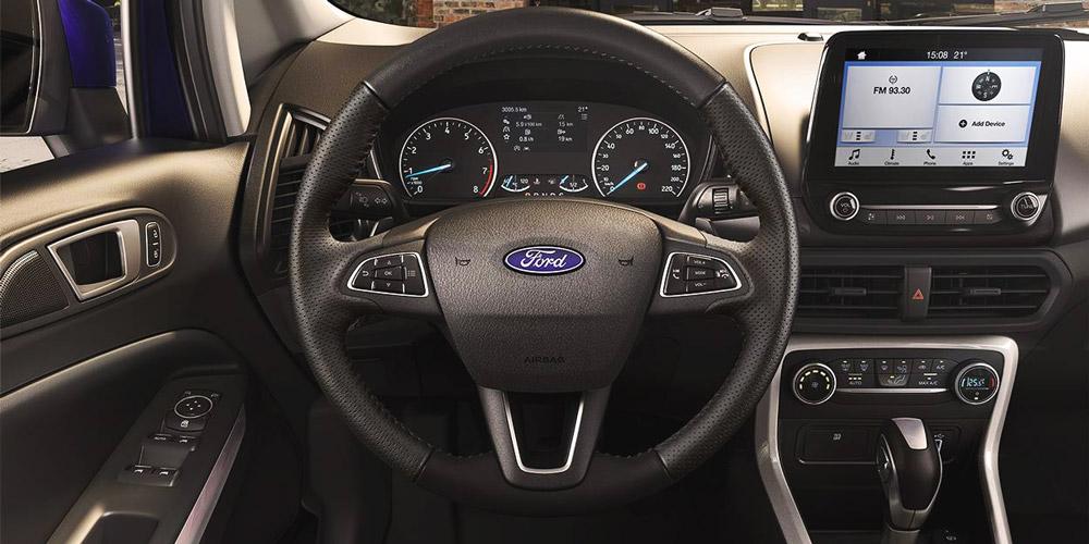 Ford Ecosport vô lăng - cụm đồng hồ
