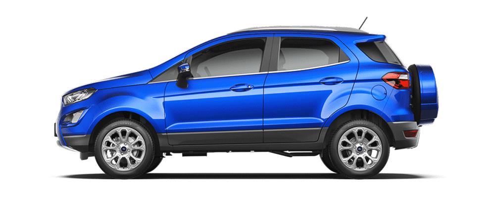 Ford Ecosport xanh dương