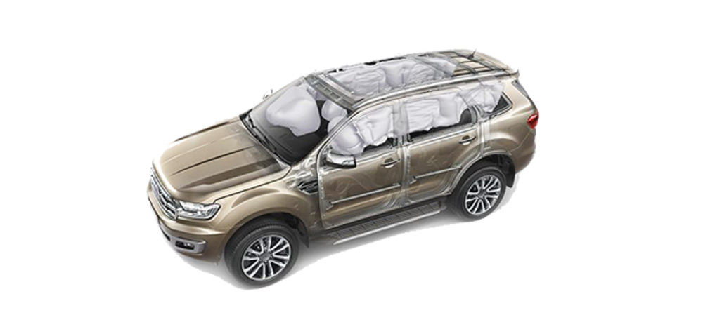 Các trang bị an toàn trên Ford Everest 2018