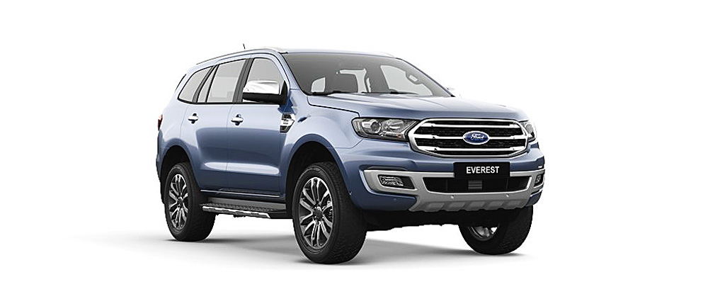 Ford Everest màu blue