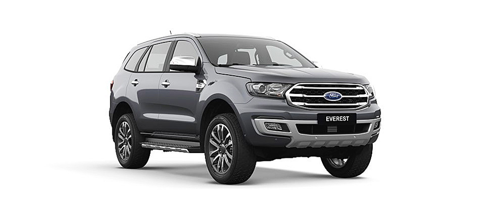 Ford Everest màu xám
