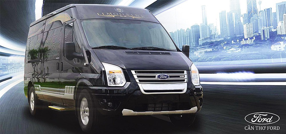 Ngoại thất Ford Transit Limousine
