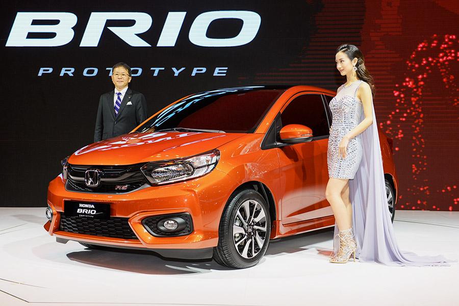 Honda Brio giới thiệu