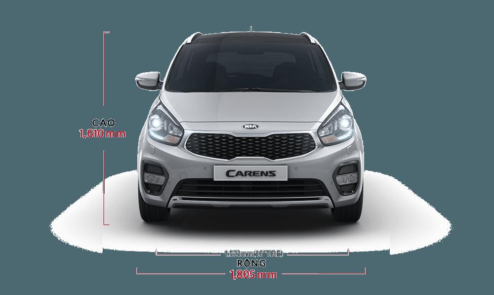 Đầu xe Kia Rondo 2018