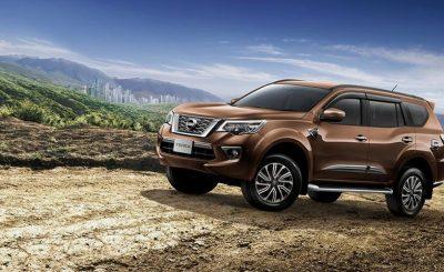 Nissan Terra 2019 hoàn toàn mới