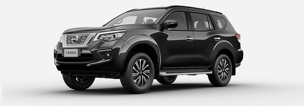 Nissan Terra màu đen