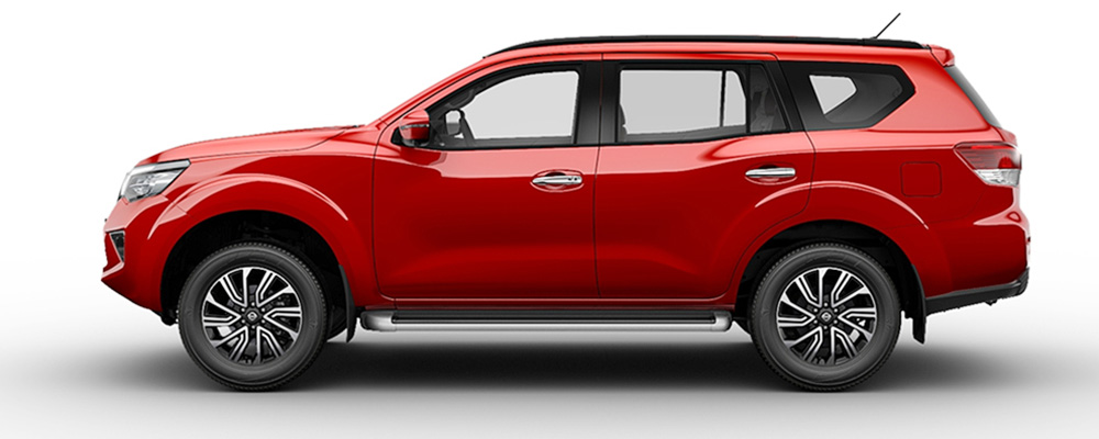Thân xe Nissan Terra 2019