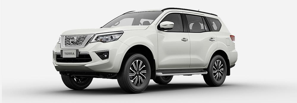 Nissan Terra màu trắng