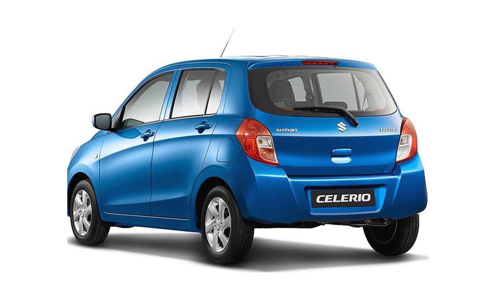 Suzuki Celerio - đuôi xe