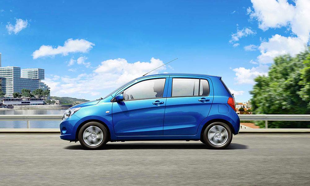 Suzuki Celerio có khả năng di chuyển linh hoạt trên các đoạn đường đô thị