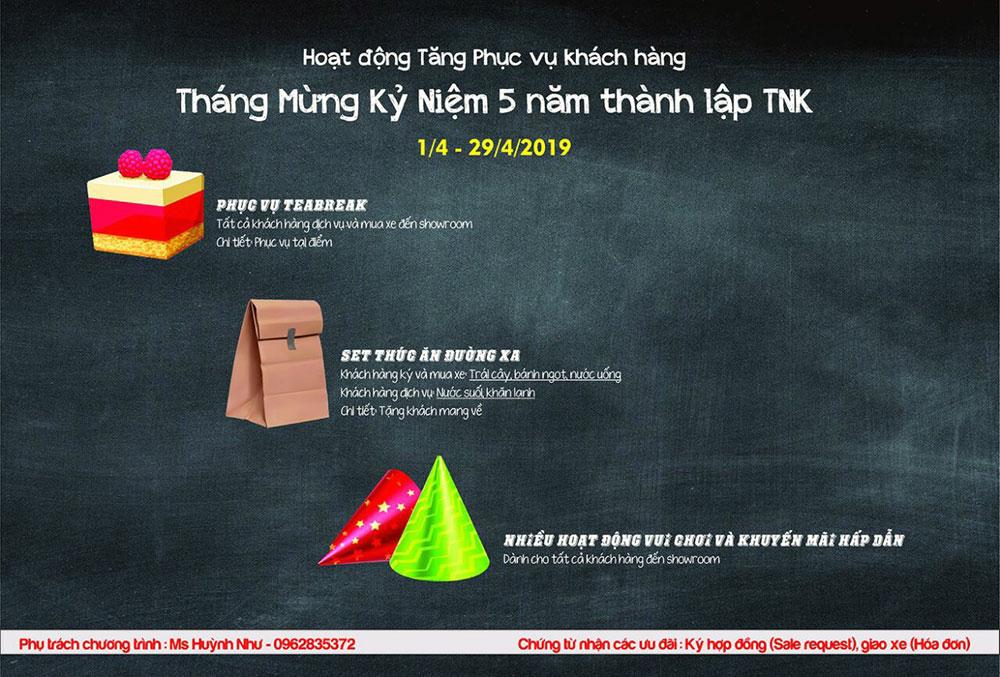 Chương trình tặng quà, khuyến mãi tại Toyota Ninh Kiều - Cần Thơ